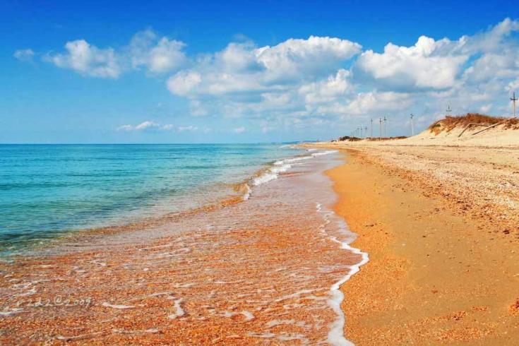 Голубицкая отдых на берегу