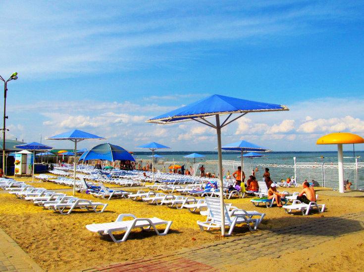 Азовское море Таганрог отдых