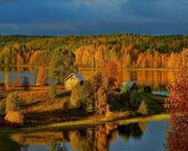 Отдых осенью в России куда поехать
