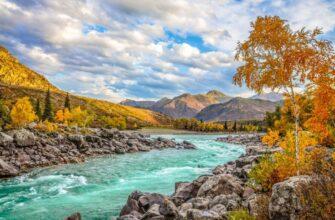 Отдых на Алтае осенью