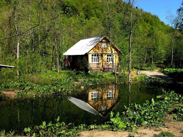 Отдых в горах с рыбалкой Краснодарский край