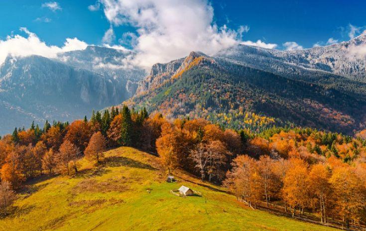Отдых в горах осенью с ребенком