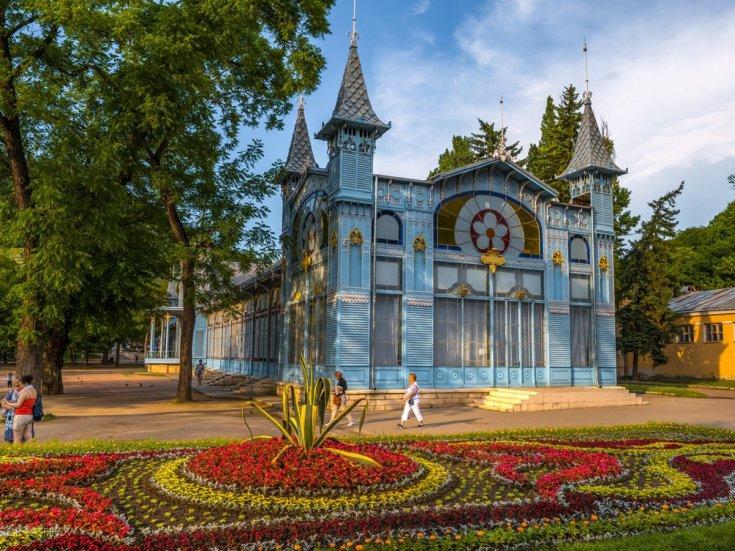 Лечебные курорты Кавказских Минеральных вод
