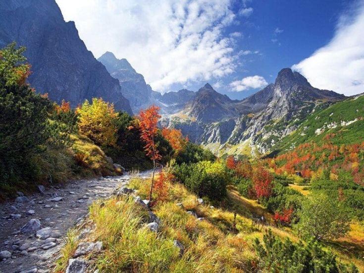 Отдых в горах Кавказа осенью