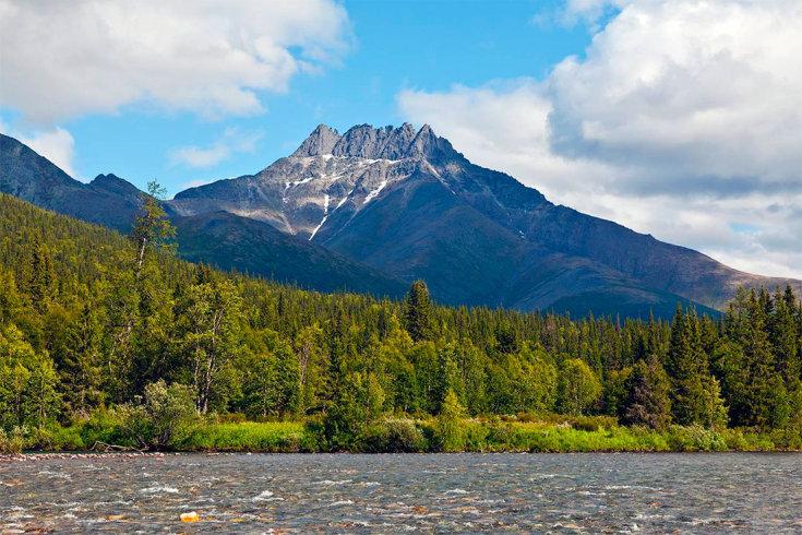 Отдых в горах России в начале осени