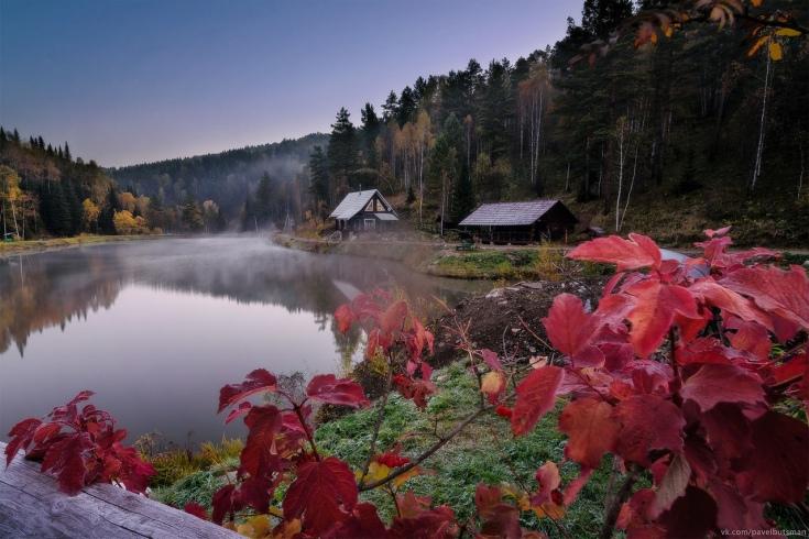Отдых на Алтае осенью с детьми