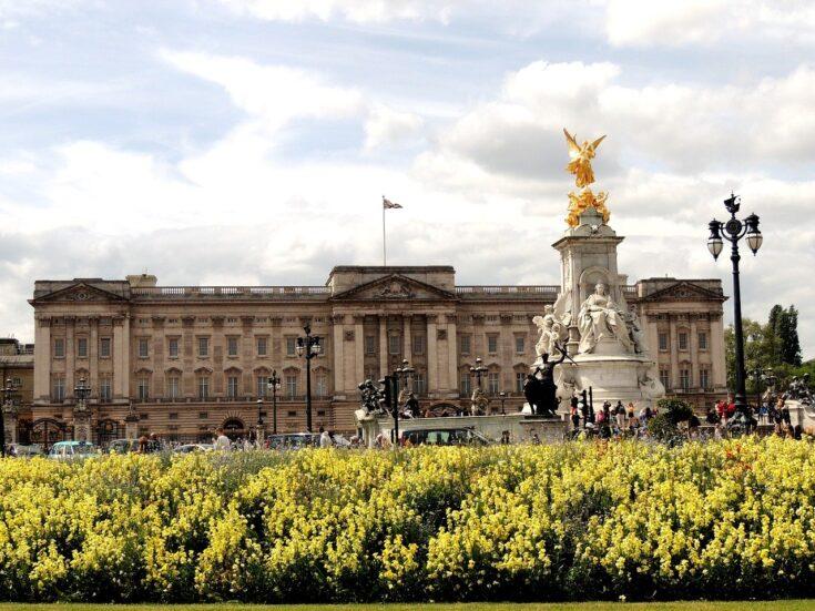достопримечательность букингемский дворец