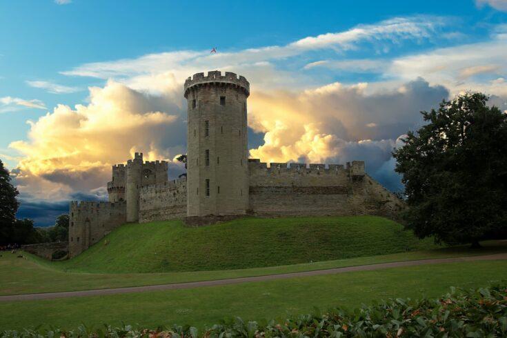 Англия замок
